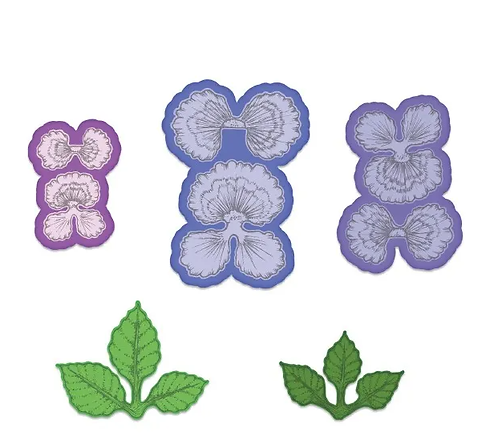 Burst of Spring Collection - Cheery Pansy Die