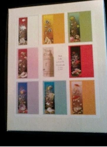 Sea Life - set of 8 cards