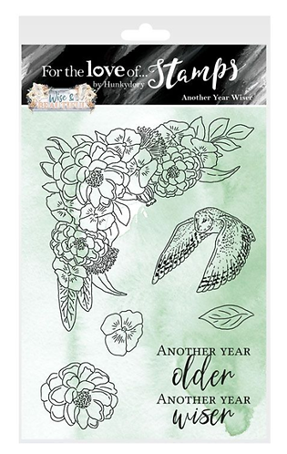 Another Year Wiser A6 Stamp Set