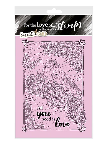 Stamp-a-Card Amongst the Flowers