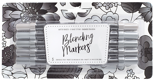 Grayscale Blending Markers
