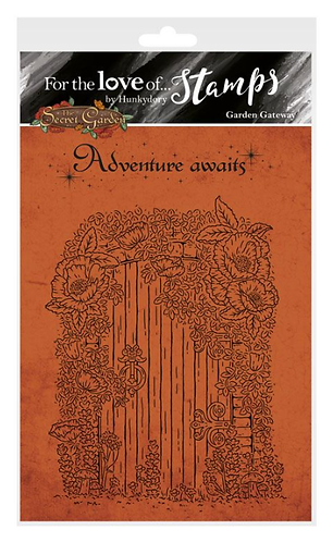 The Secret Garden - Garden Gateway A6 Stamp Set
