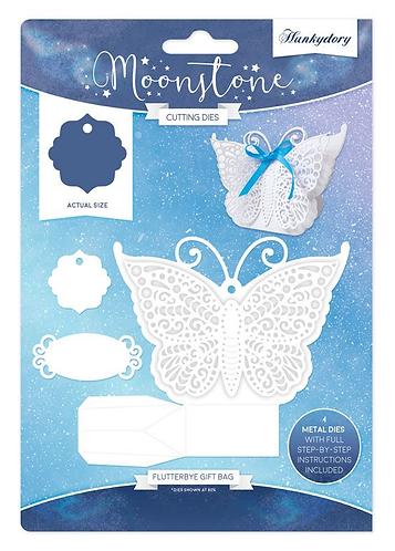 Flutterbye Gift Bag Moonstone Die Set