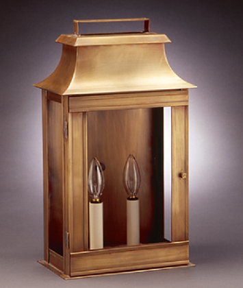 Broad Wall Mansard Lantern