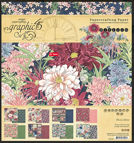 Blossom 8x8 Pad
