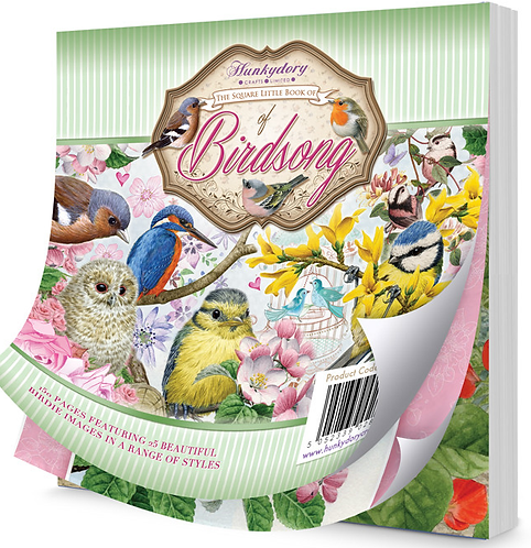 HunkyDory The Square Little Book of Birdsong