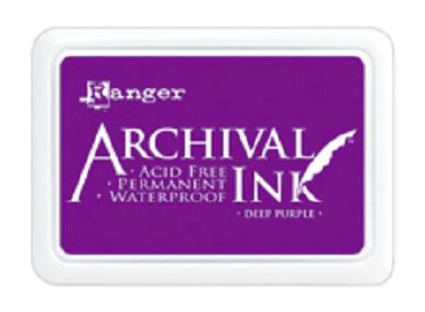 Archival Ink™ Pads Deep Purple - AIP30430