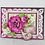 Thumbnail: Wild Rose Collection - Large Wild Rose Cling Stamp Set