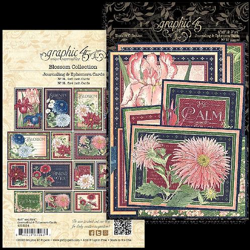 Blossom Ephemera & Journaling Cards