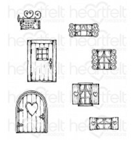 Wildwood Cottage Cling Stamps