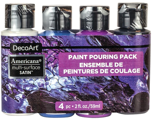 Galaxy Paint Pouring Pack