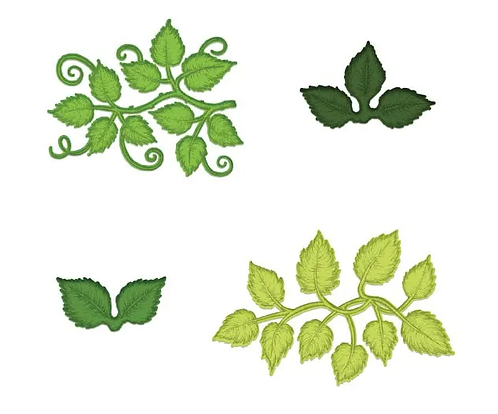 Leafy Accents Die