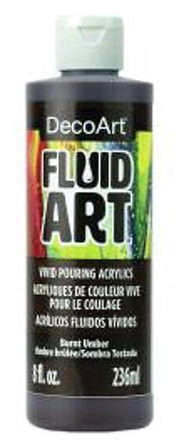 FluidArt 8 oz Single - Burnt Umber
