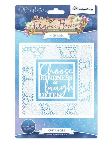Filigree Flowers - Hydrangea - Moonstone Dies