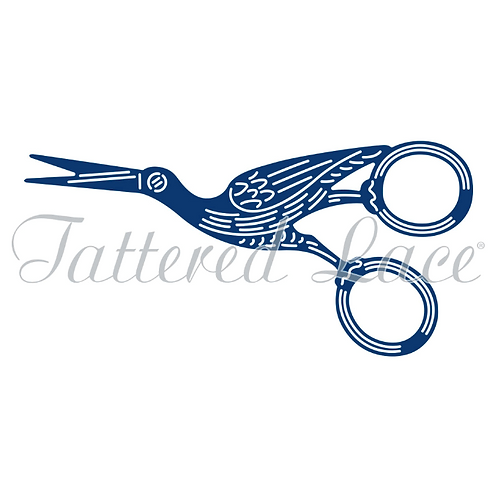 Tattered Lace Embroidery Scissors Die
