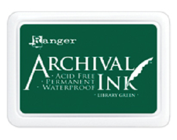 Archival Ink™ Pads Library Green - AIP31475