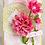 Thumbnail: Dazzling Dahlia Cling Stamp Set