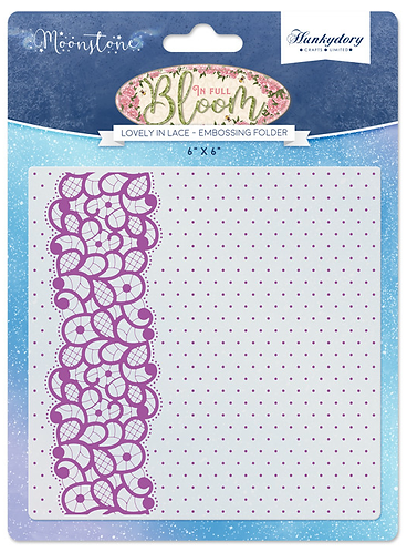 Lovely in Lace Moonstone Embossing Folder