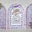 Thumbnail: Elegant Gateway Sentiments Cling Stamp Set