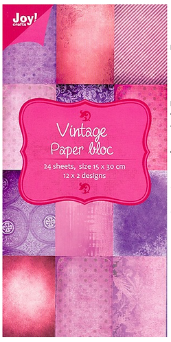 Paper Bloc - Vintage Pinks and Purples