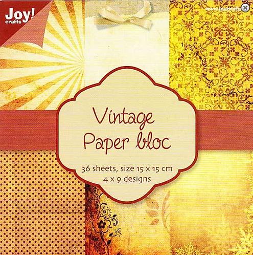 Paper Bloc - Vintage Yellow