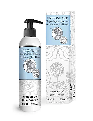 Magical Resin Remover - All Natural - Hand Gel Cleanser for Artists