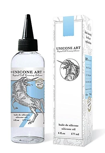 Silicone Oil for Acrylic Pour Art, 100% Pure