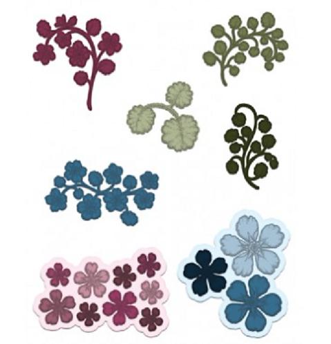 Wildwood Florals Die