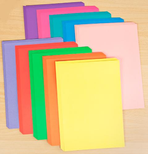 Rainbow Cardstock - 20 pcs