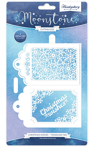 Christmas Wishes Twinkling Tag