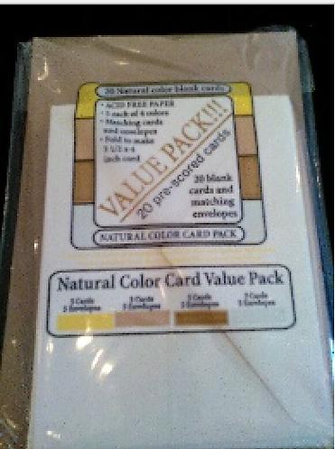 Halcraft Natural Cards