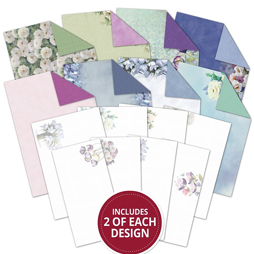 Filigree Frames - Frosted Florals Inserts & Papers
