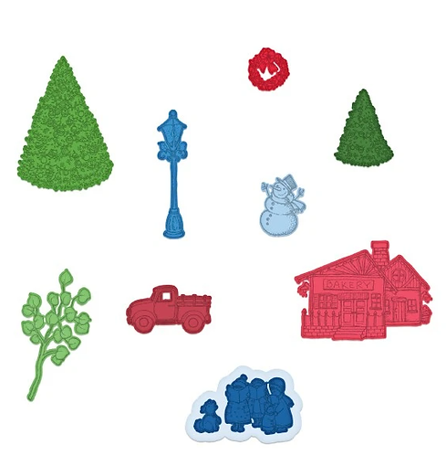 Festive Winterscapes Collection - Festive Winterscapes Die