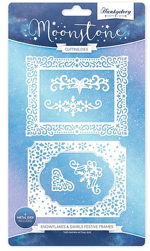 Snowflake & Swirls Festive Frames