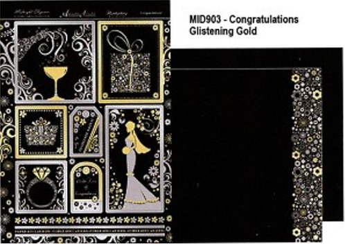 Midnight Elegance - Congratulations