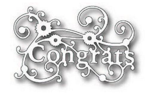 Tutti Design - Swirly Congrats