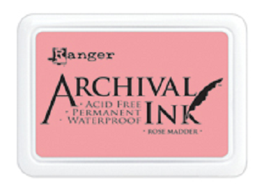 Archival Ink™ Pads Rose Madder - AIP30638