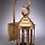 Thumbnail: Six Sided Round Lantern Wall Mount - Small