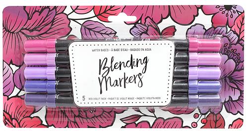 Red - Violet Blending Markers