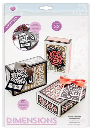A Little Something Gift Box Die Set
