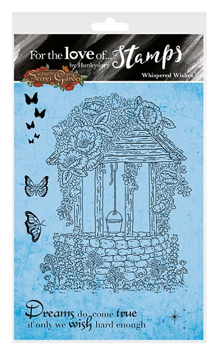 The Secret Garden - Whispered Wishes A6 Stamp Set