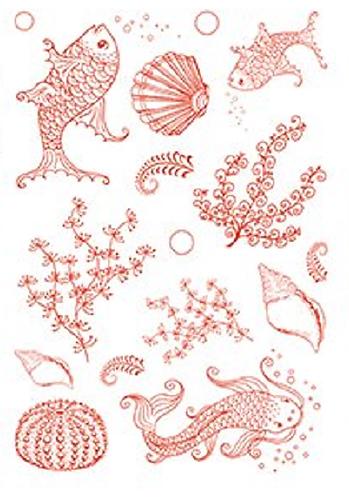 Sheena Serene Waters A5 Stamp Set
