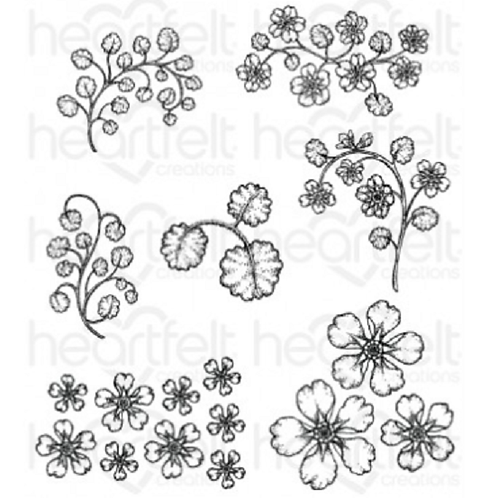 Wildwood Floral Stamps