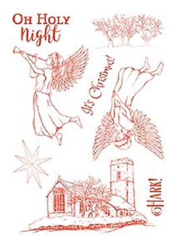 Sheena Hark the Herald A5 Stamp Set