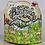 Thumbnail: Elaborate Birthday Cling Stamp Set