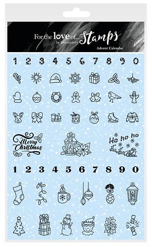 Advent Calendar A5 Stamp Set