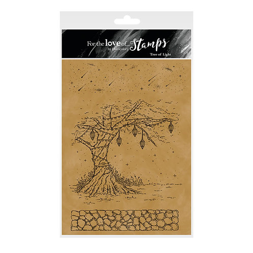 Fairy Enchantment - Tree of Light - A5 Stamp Set