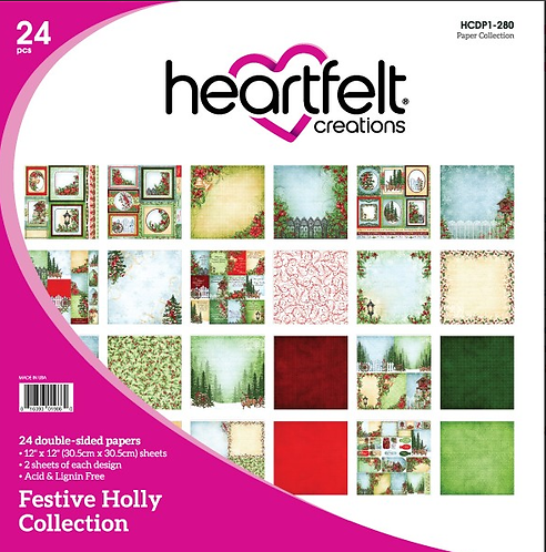 Festive Holly Paper Collection