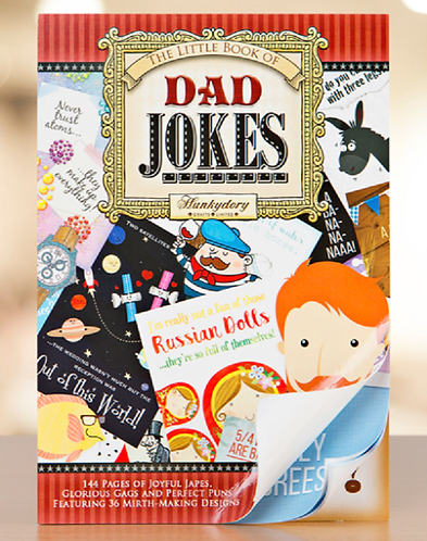 HunkyDory Little Book of Dad Jokes