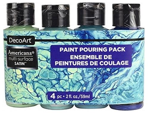 Coastal Paint Pouring Pack